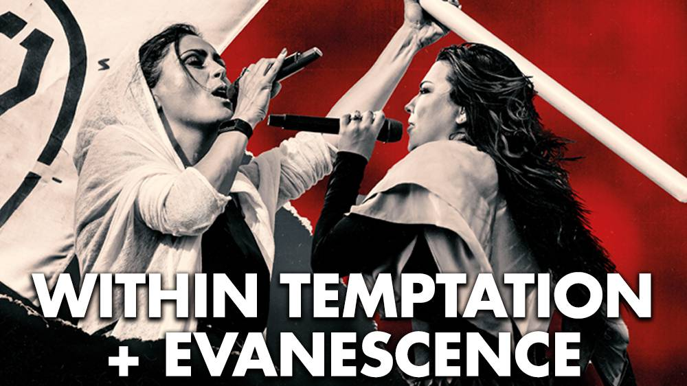 VERSCHOBEN: Within Temptation/ Evanescence