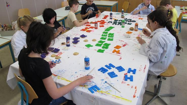 Alle zwei Jahre findet an der Schule Uitikon eine Projektwoche statt