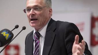 Ständerat Thomas Minder (SH), Vater der Abzockerinitiative