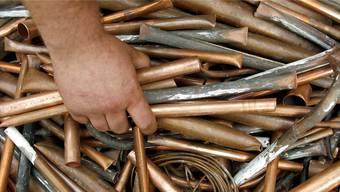 In Dulliken wurde von unbekannter Täterschaft eine grosse Menge von Kupfer entwendet.