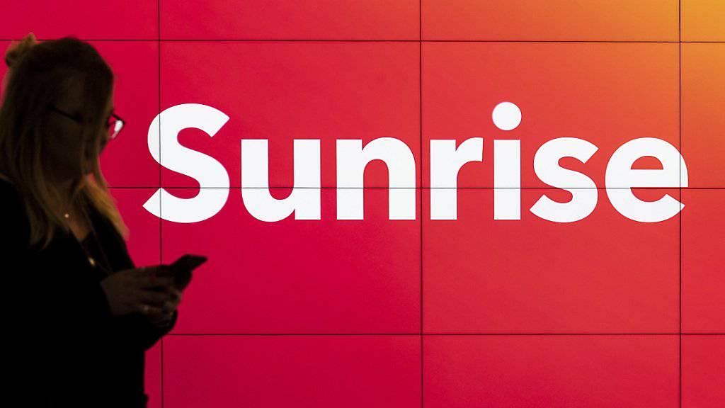 Sunrise hat zum Jahresstart mehr verdient. (Archiv)