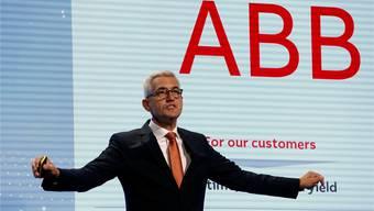 Er hält den ABB-Konzern zusammen: CEO Ulrich Spiesshofer am Investorentag in Zürich. REUTERS/Arnd Wiegmann