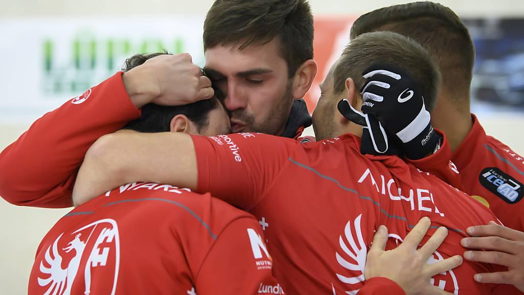 Genfer Curler mit klarem Verdikt ans Olympia-Turnier