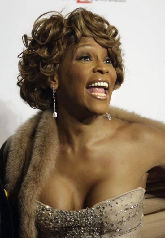 US-Sängerin Whitney Houston (© Keystone)