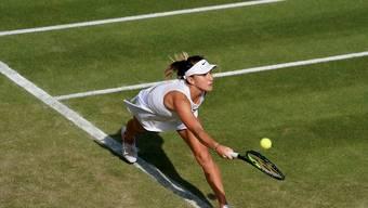 Belinda Bencic fühlt sich auf Platz 18 in Wimbledon sehr wohl