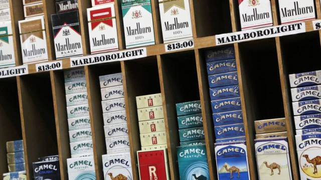 Einbrecher räumten die Zigarettenregale in der Wettinger Migrolino-Filiale leer (Symbolbild)