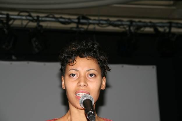 Slam-Poetin Amina Abdulkadir