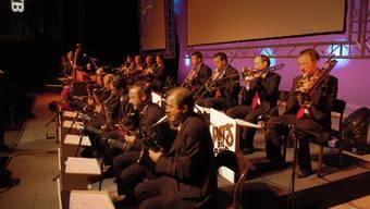 Weltenbummler: Pat's Big Band absolviert jedes Jahr bis zu 15 Auftritte. Die Musik hat sie schon um die ganze Welt geführt. zvg