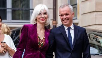 Sie lieben es luxuriös: François de Rugy und seine Frau Severine Servad.