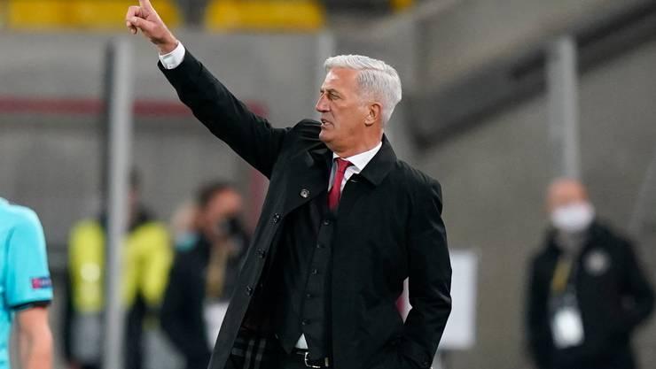 Vladimir Petkovic und die Schweiz wären derzeit in der WM-Qualifikation nicht in Topf 1 gesetzt.