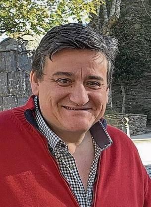 José war beim Markieren des Camino dabei.