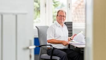 Silvio Caneri (62) sitzt seit 19 Jahren im Gemeinderat von Fislisbach, seit 11 Jahren ist er Gemeindeammann.