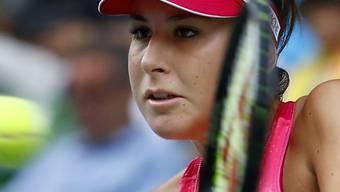 Konzentriert zum nächsten bemerkenswerten Sieg: Belinda Bencic