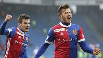 Torschützenkönig Albian Ajeti ist auch Basels Klassenbester.