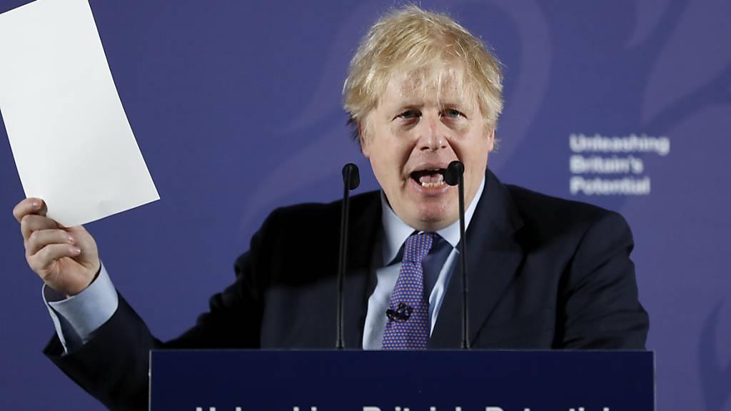 Johnson will sich zum Brexit-Streit äussern: Bricht er Gespräche ab?