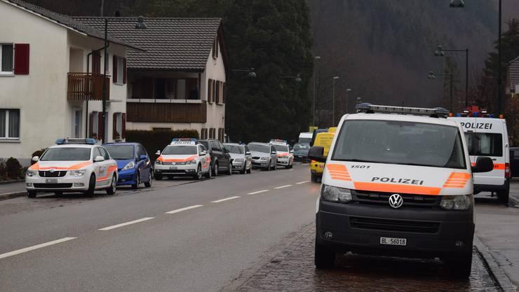 Polizei Basel-Landschaft stellt Brandsätze in Schlachthof sicher. (Archivbild)