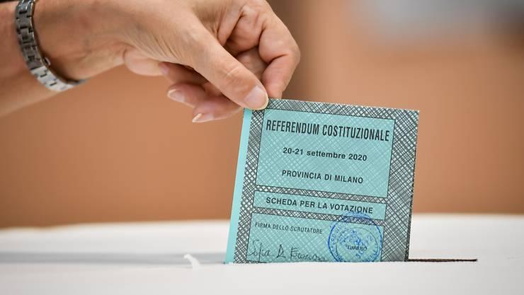 Bei den Regionalwahlen in Italien könnten die Rechten in linken Hochburgen gewinnen. Foto: Claudio Furlan/LaPresse via ZUMA Press/dpa