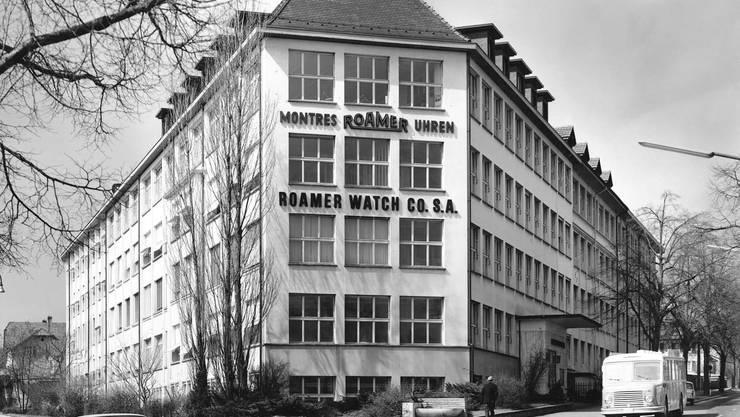 Roamer-Gebäude in Solothurn
