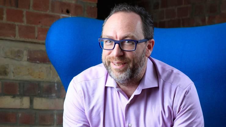 Wikipedia-Gründer Jimmy Wales: «Man muss mutige Entscheide fällen, damit etwas Grosses entstehen kann.»