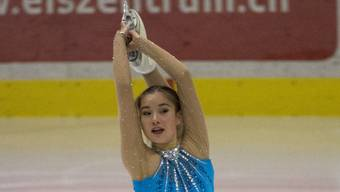 Die neue, erstmalige Schweizer Meisterin: Yasmine Yamada.
