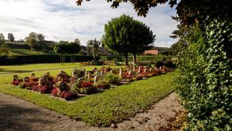 Der Friedhof von Lüsslingen-Nennigkofen.