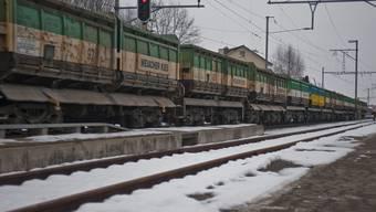 Der Güterzug blockierte für zwei Stunden den Bahnübergang an der Zehntenhausstrasse (Symbolbild).