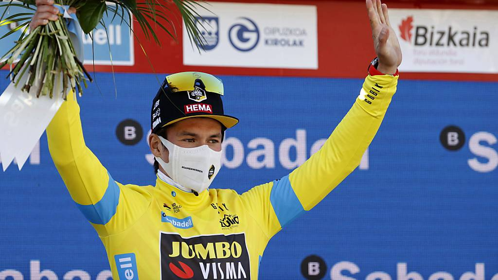 Primoz Roglic hievt sich in die Favoritenrolle