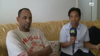 Die verzweifelten Eltern des verschwundenen 14-jährigen Eritreers aus Rombach.