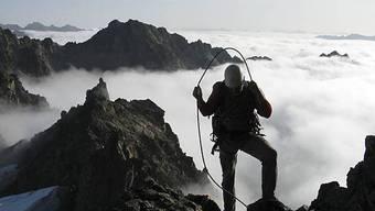 Morgenstimmung in den Bergen - schön aber auch gefährlich (Symbolbild)