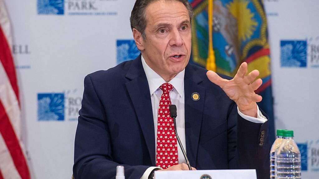 FILED - Zwei ehemalige Mitarbeiterinnen werfen New Yorks Gouverneur sexuelle Belästigung vor. Photo: Darren Mcgee/TNS via ZUMA Wire/dpa