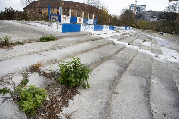Hier soll das neue Stadion gebaut werden.