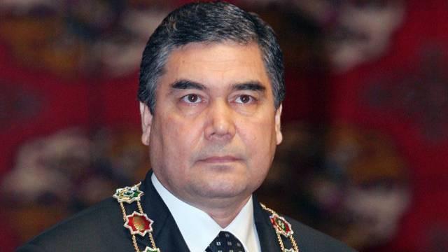 Er ist und bleibt Präsident Turkmenistans: Gurbanguli Berdymuchamedow (Archiv)