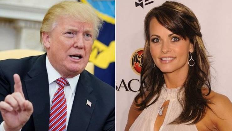 Donald Trump und Karen McDougal.