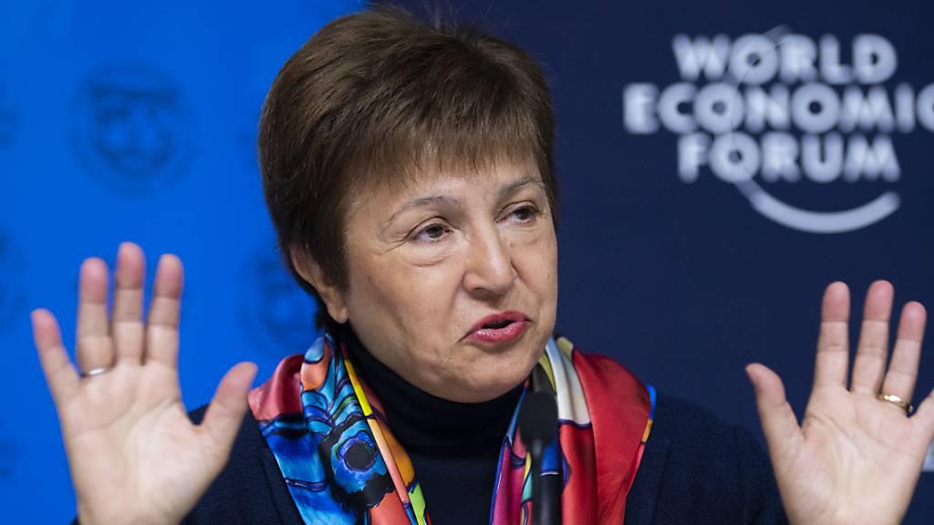 IWF-Chefin befürchtet langsamere Erholung in ärmeren Ländern