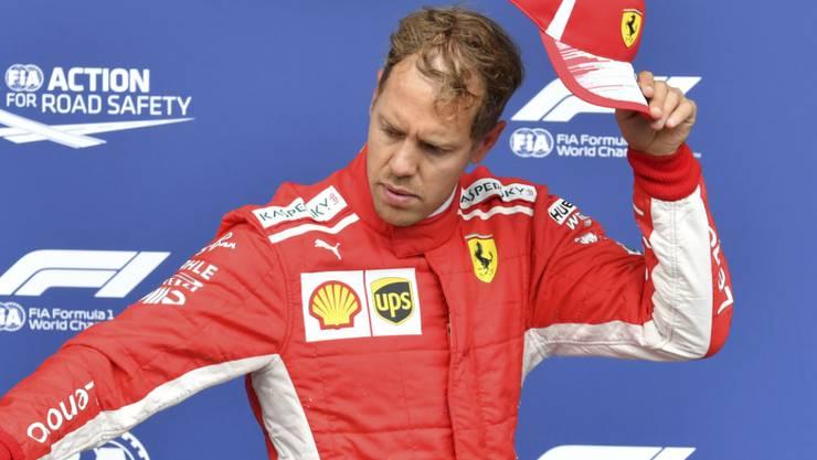 Hut ab für Sebastian Vettel. Der Deutsche war in Belgien hoch überlegen