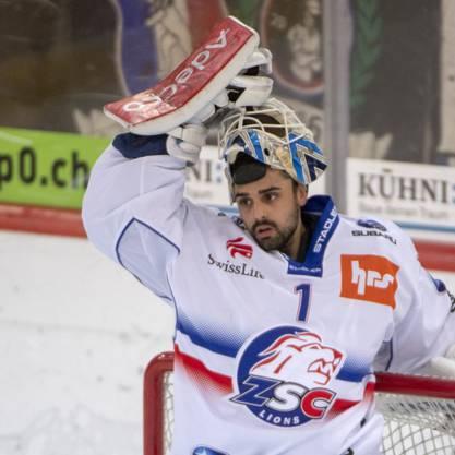 Wechselt auf nächste Saison von den Lions zu den Berner Bären: Goalie Niklas Schlegel