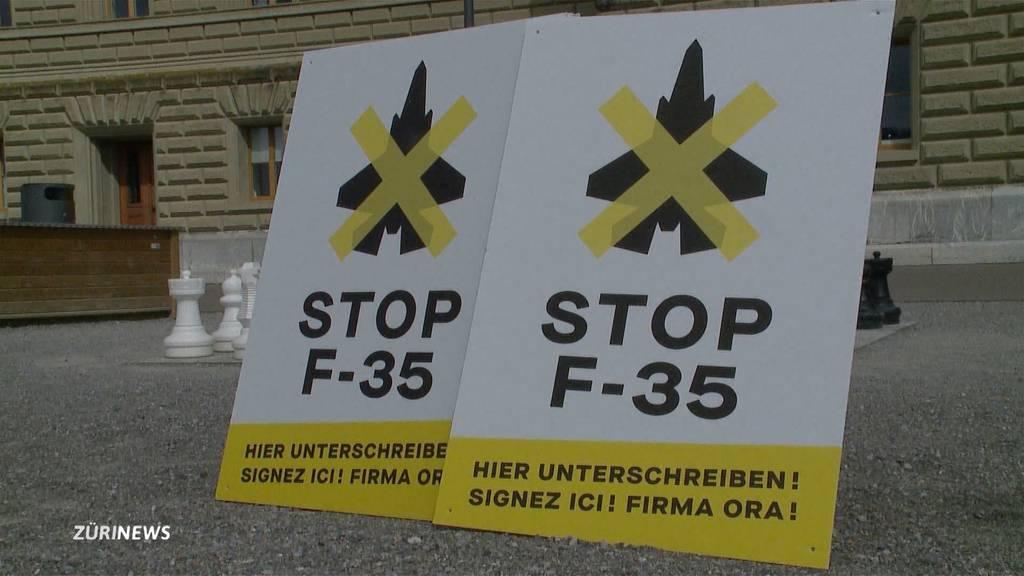 «Stop F-35»: GSoA, Grüne und SP lancieren Initiative gegen Kampfjet F-35