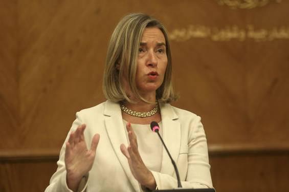 EU-Aussenbeauftragte Federica Mogherini ist besorgt über den Austritt der USA.