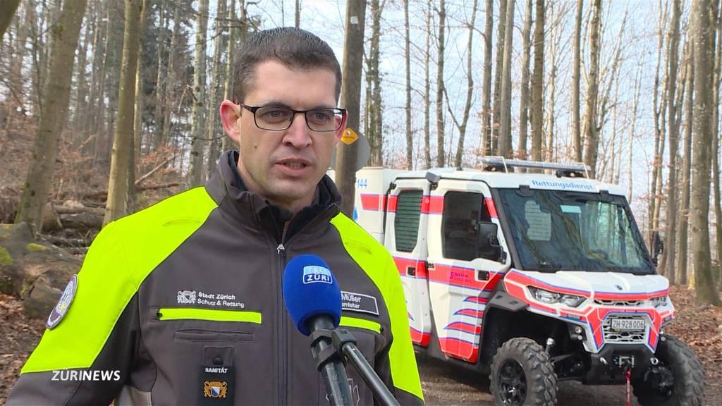 Schweizweit einzigartiges Offroad-Rettungsfahrzeug: «All-Terrain-Vehicle» für den Üetliberg