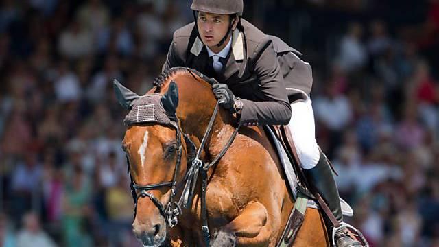 Olympiasieger Guerdat gab in Aachen auf