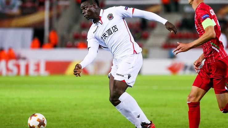 Viertes Tor im vierten Ligaspiel für Nizzas Mario Balotelli