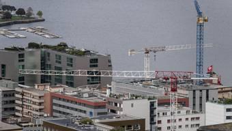 Die Tessiner Regierung ist froh, dass die Baustellen im Kanton geschlossen bleiben dürfen.