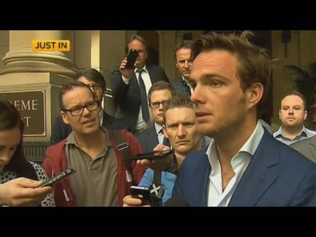 «Ich fühle mich fit und habe trainiert – ich möchte zurück zum Team»: Giedo van der Garde am Mittwoch vor dem Gerichtsentscheid.