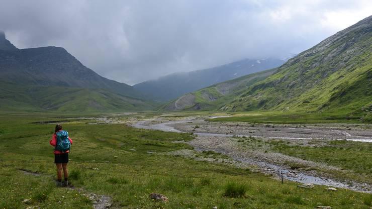 Die Plaun la Greina in den Kantonen Graubünden und Tessin.