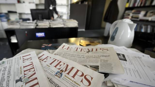 """Die Zeitung """"Le Temps"""" geht definitiv in den Besitz von Ringier"""
