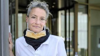 Seit zwei Wochen arbeitet Katja Reichenstein wieder im Universitätsspital Basel als Pflegefachfrau.