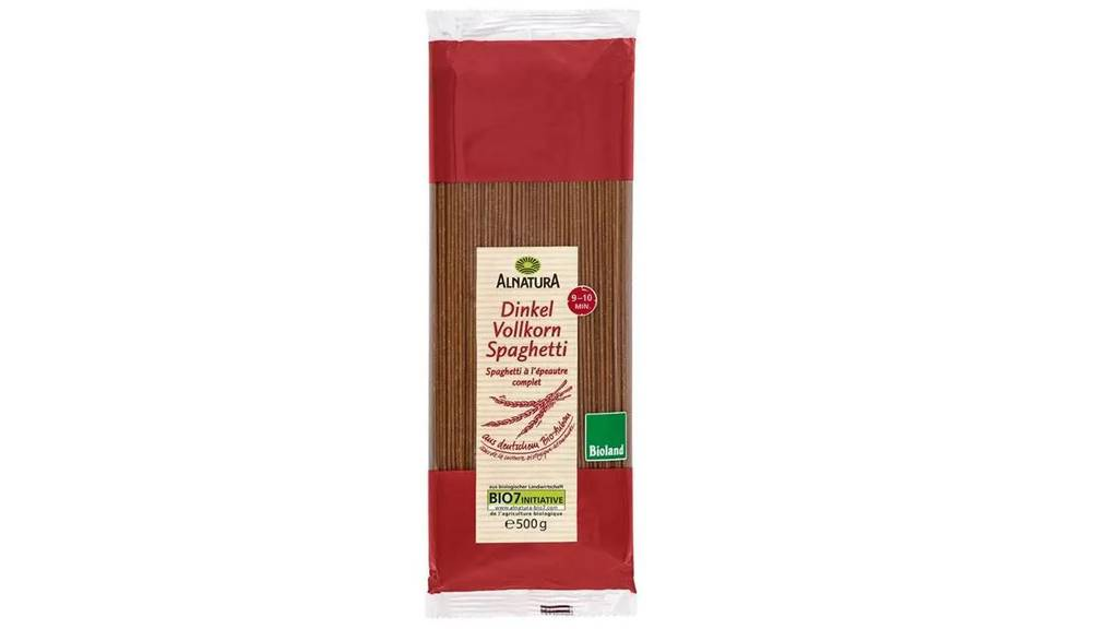 Rückruf Alnatura Dinkel-Vollkorn-Spaghetti