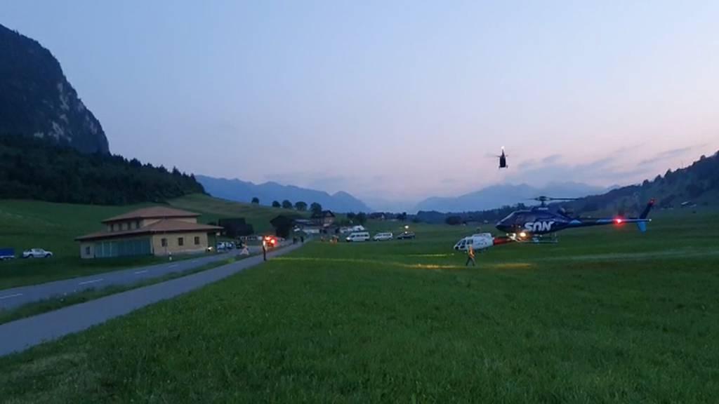 200 Gäste vom Stanserhorn evakuiert