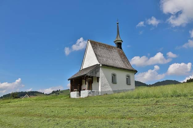 Die Kapelle St.Karl Borromäus nahe Appenzell.
