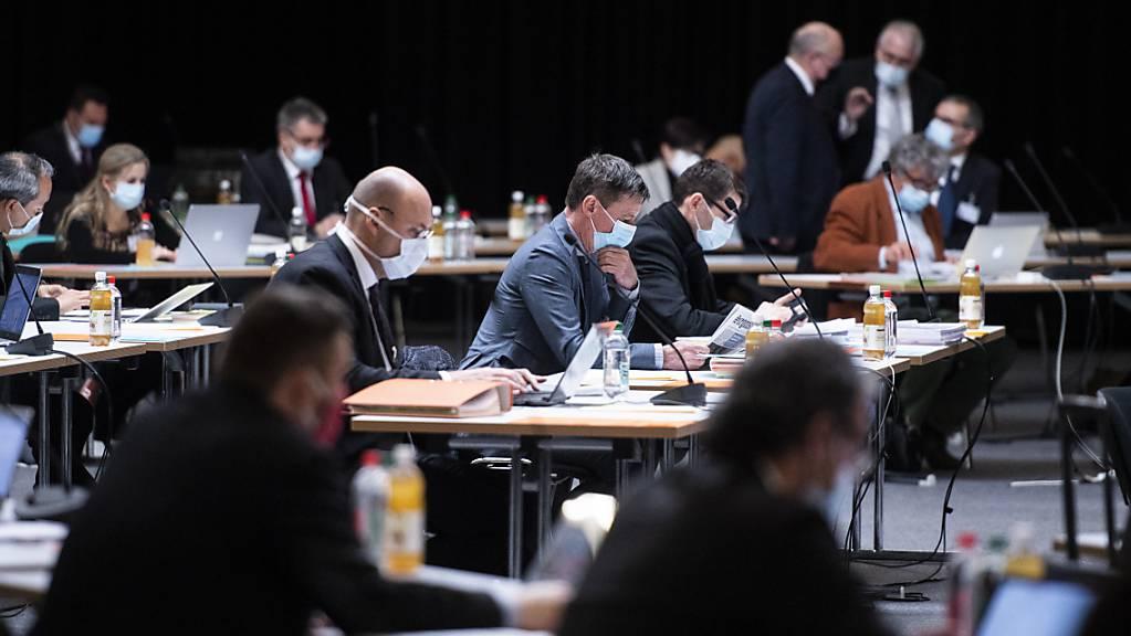 Der St.Galler Kantonsrat hat am Dienstagvormittag nach längerer Diskussion die Rechnung 2020 genehmigt. (Archivbild)